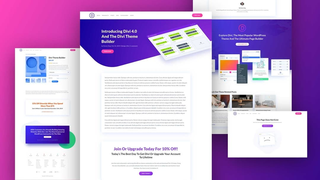Divi Theme Builder Pack 2