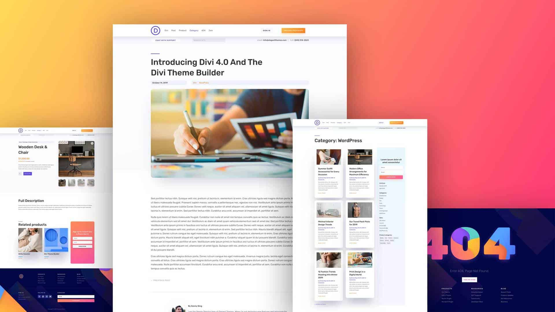 Divi Theme Builder Pack 5