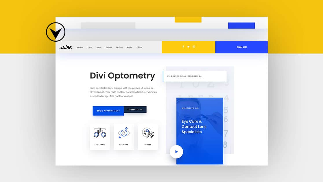 Animate Your Global Header with Divi