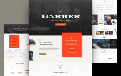 Barber Shop Layout Pack