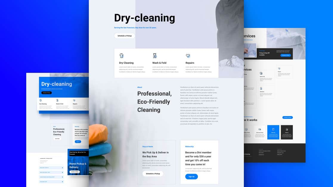 Dry Cleaning Layout Pack