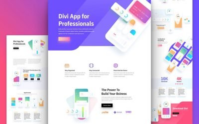 Mobile App Layout Pack