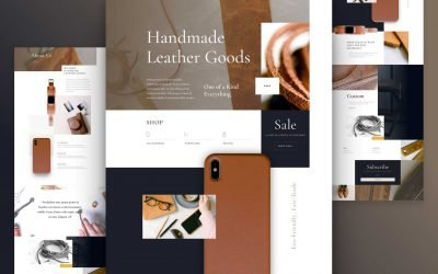 Leather Company Layout Pack
