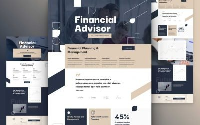 Financial Advisor Layout Pack