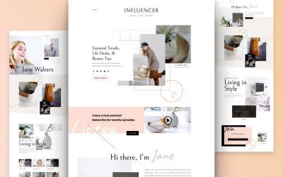 Influencer Layout Pack