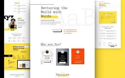 Freelance Writer Layout Pack