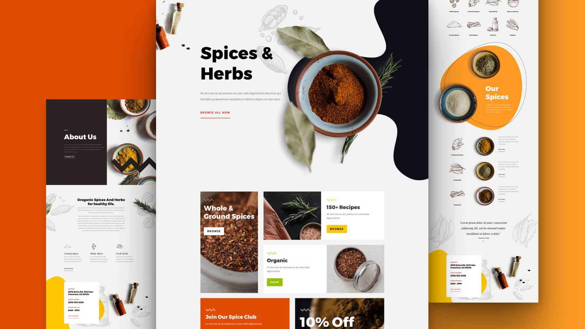 Spice Shop Layout Pack