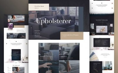 Upholstery Layout Pack