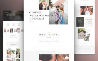 Wedding Photographer Layout