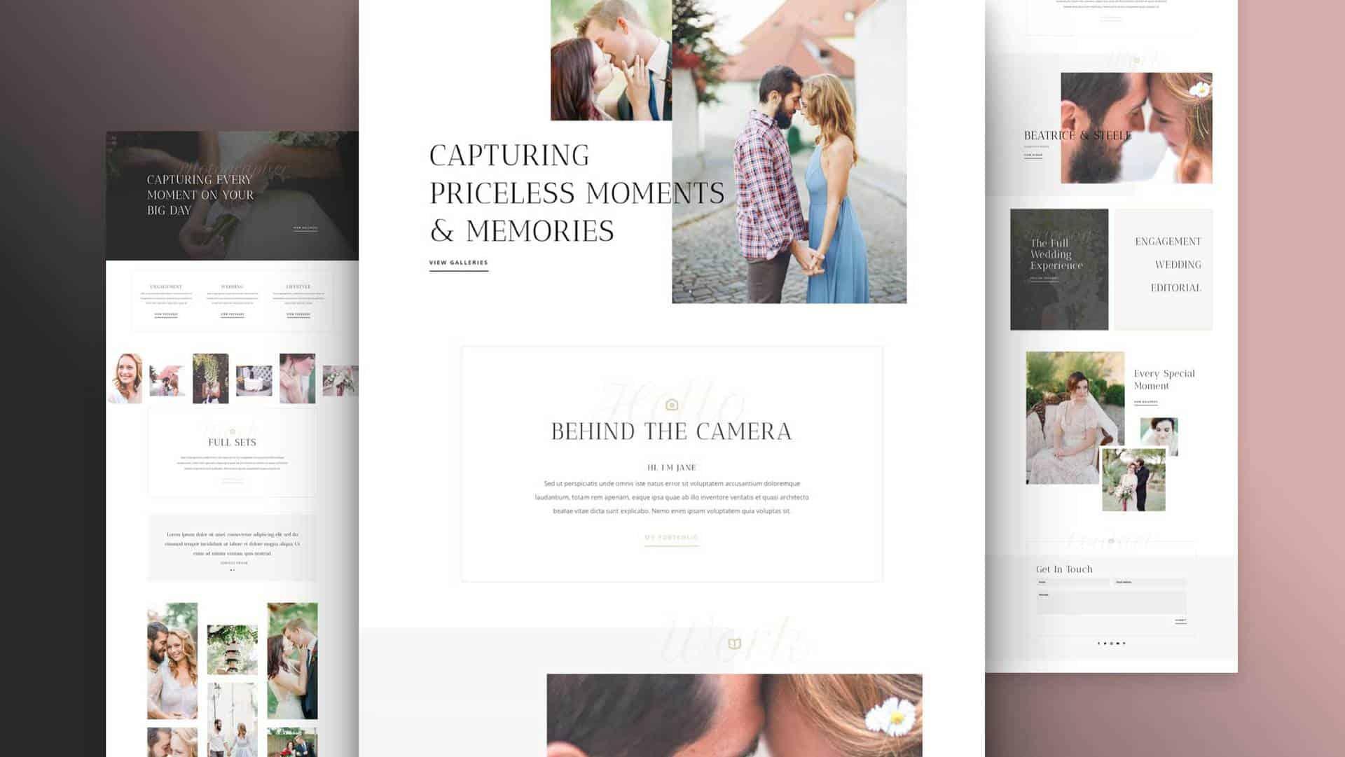 Wedding Photographer Layout