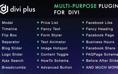 Divi Plus – $79