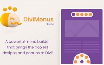 DiviMenus – $49