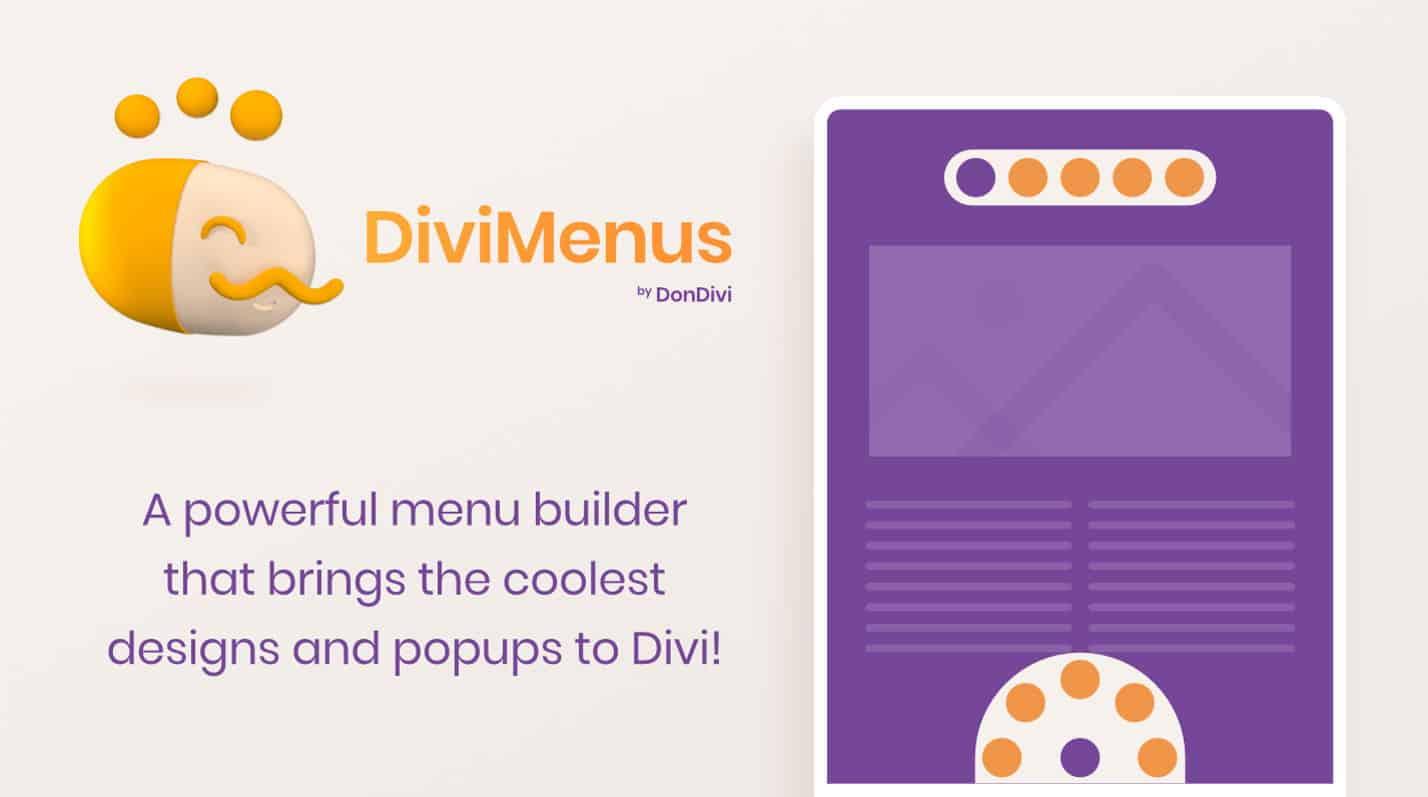 DiviMenus Extension