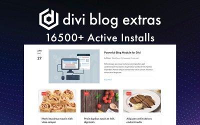 Divi Blog Extras – $49