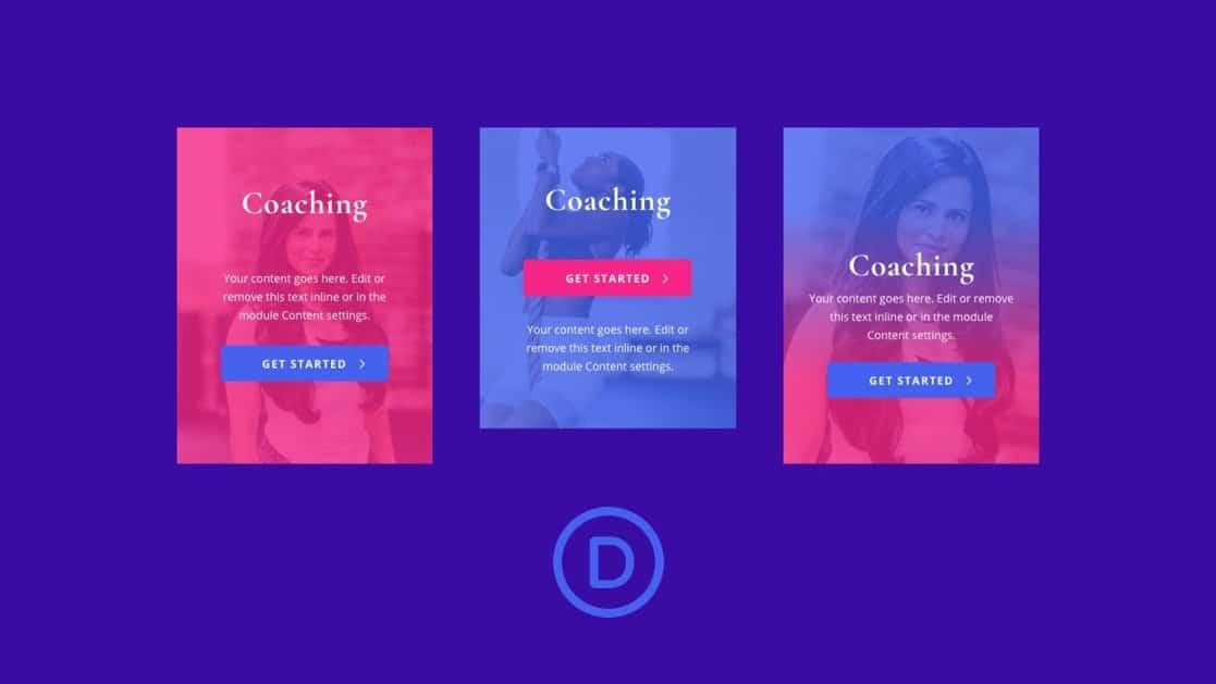 Custom Image Overlays in Divi