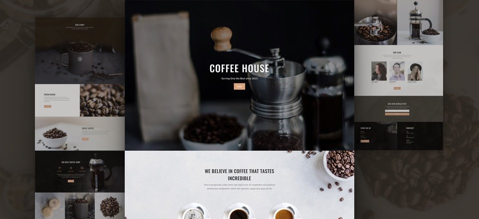 Coffee Shop Layout Pack