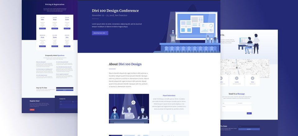 Design Conference Layout Pack