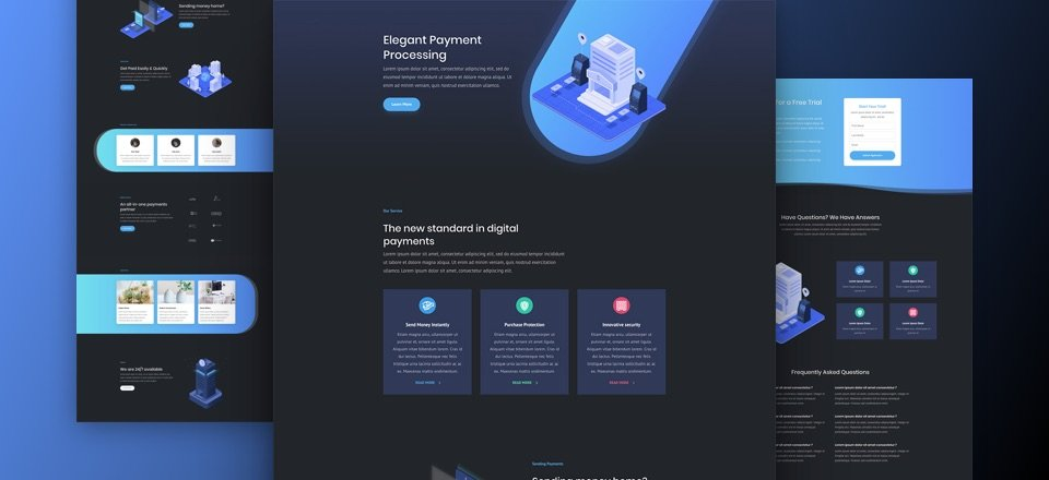Digital Payments Layout Pack