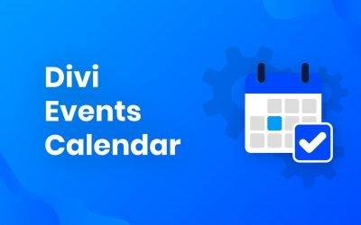 Divi Events Calendar – $35