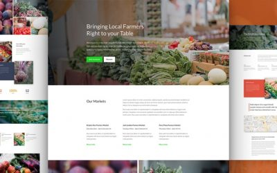 Farmers Market Layout Pack