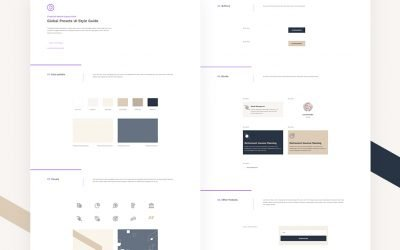 Global Presets for Financial Advisor Layout Pack