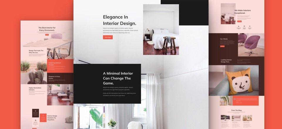 Interior Design Layout Pack