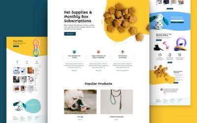 Pet Supply Layout Pack