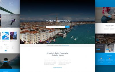 Photo Marketplace Layout Pack