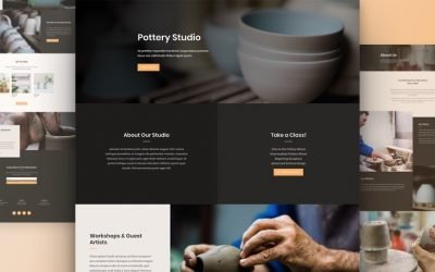 Pottery Studio Layout Pack