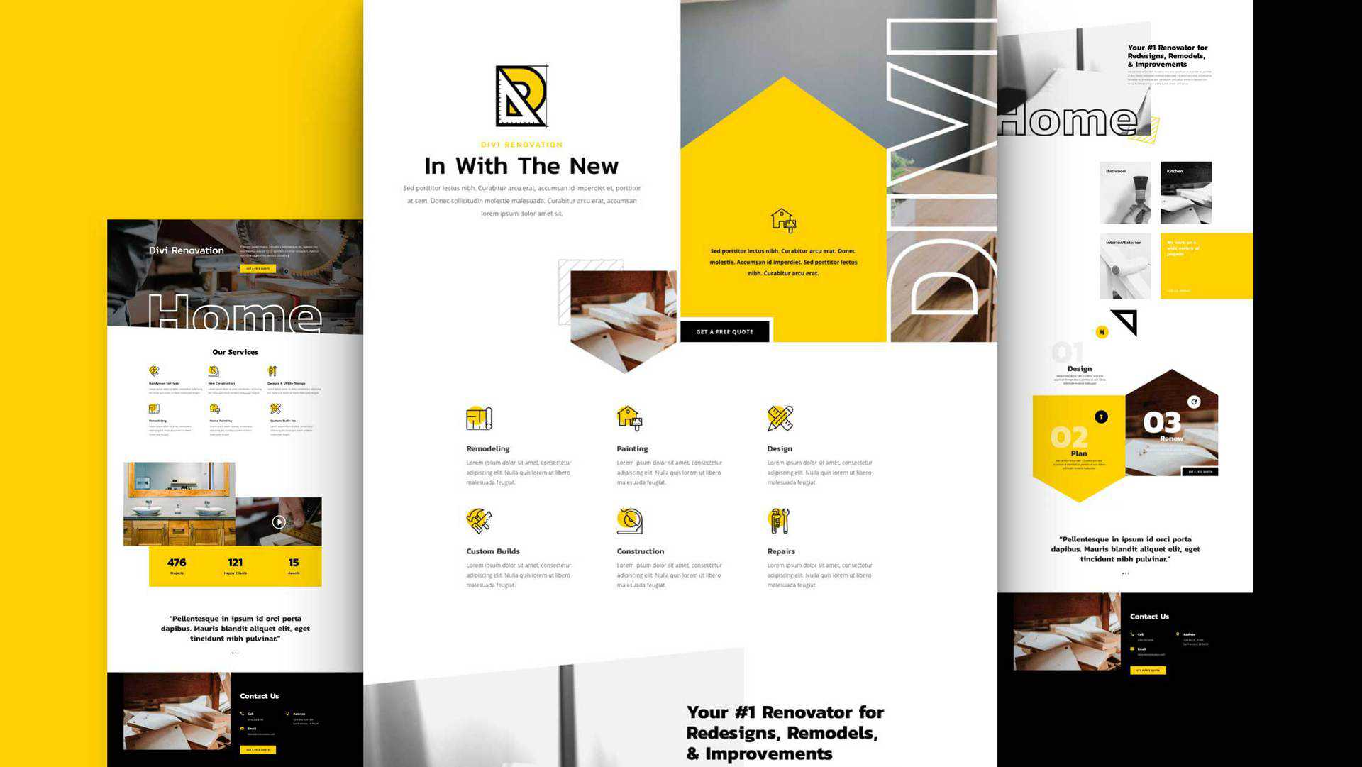Renovation Layout Pack