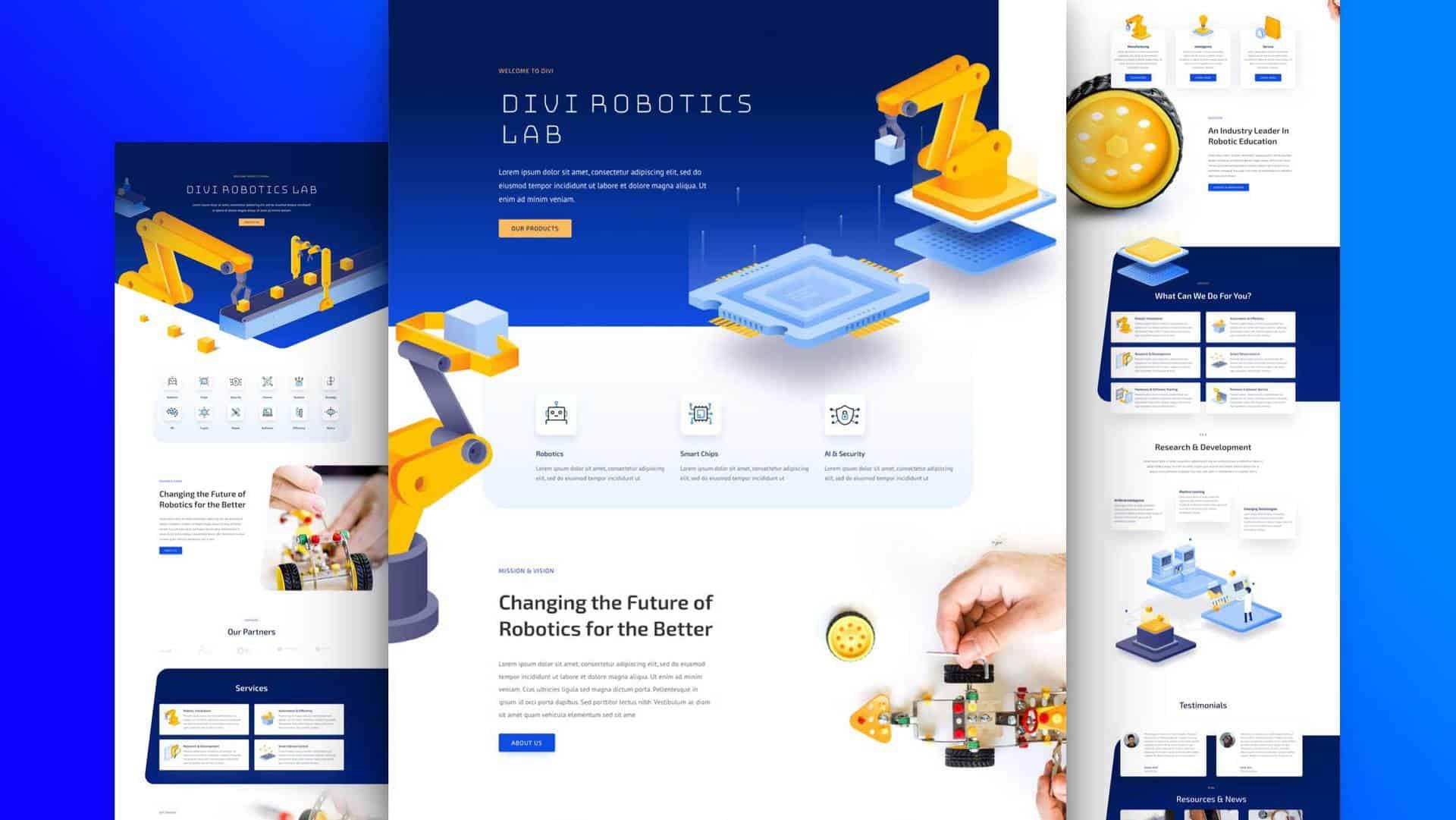 Robotics Layout Pack