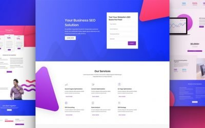 SEO Agency Layout Pack