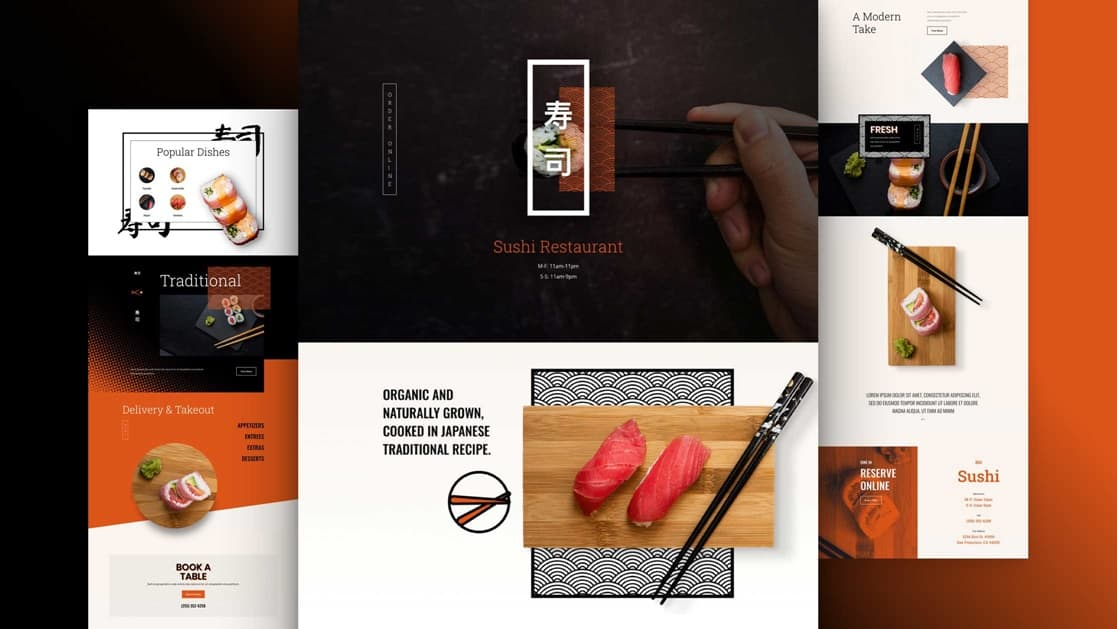 Sushi Restaurant Layout Pack