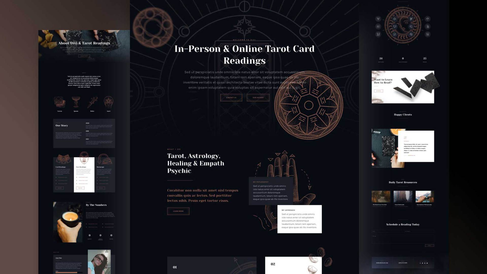 Tarot Layout Pack