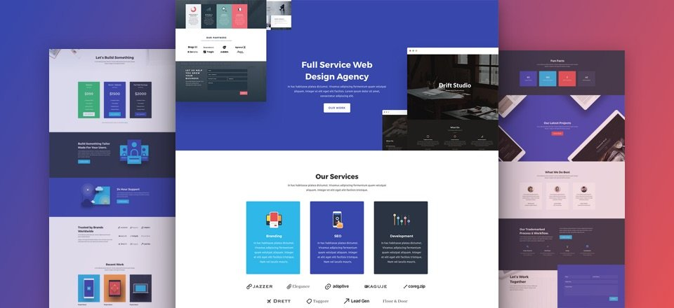 Web Agency Layout Pack