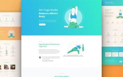 Yoga Layout Pack