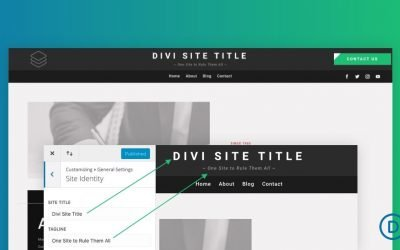 Dynamic Site Title and Tagline