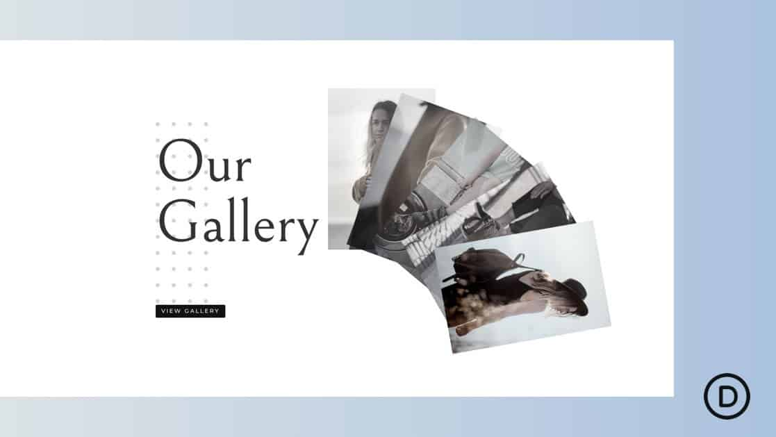 Fan Out Images on Scroll to Promote an Image Gallery
