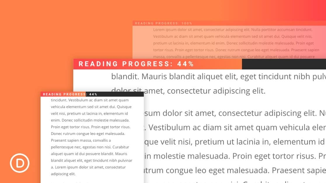 Reading Progress Bar for Blog Posts