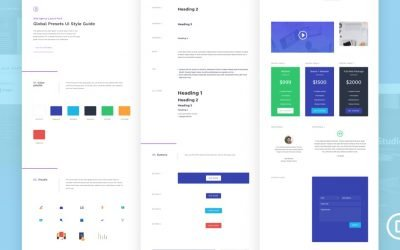 Global Presets for Web Agency Layout Pack