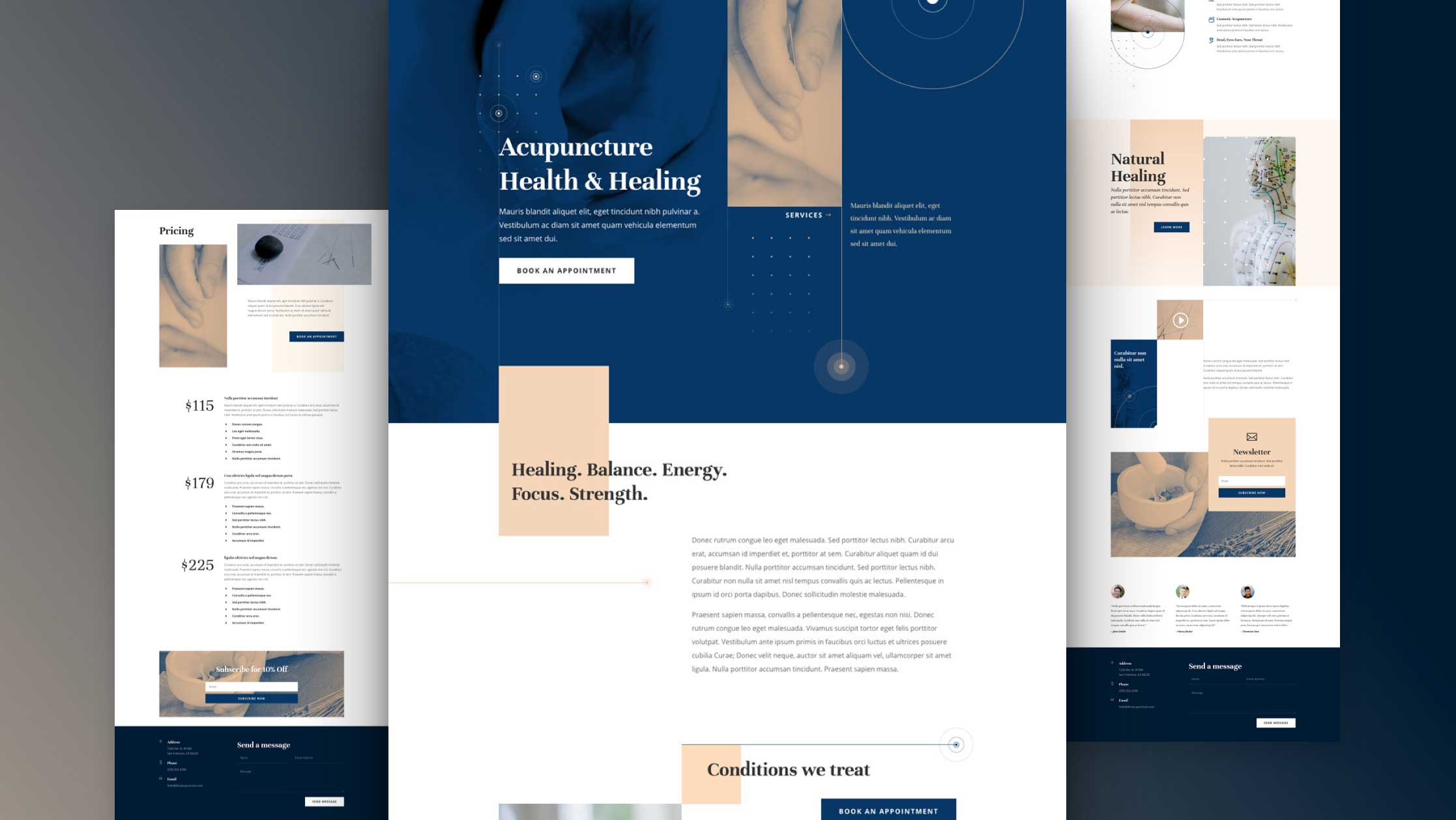 Acupuncture Layout Pack