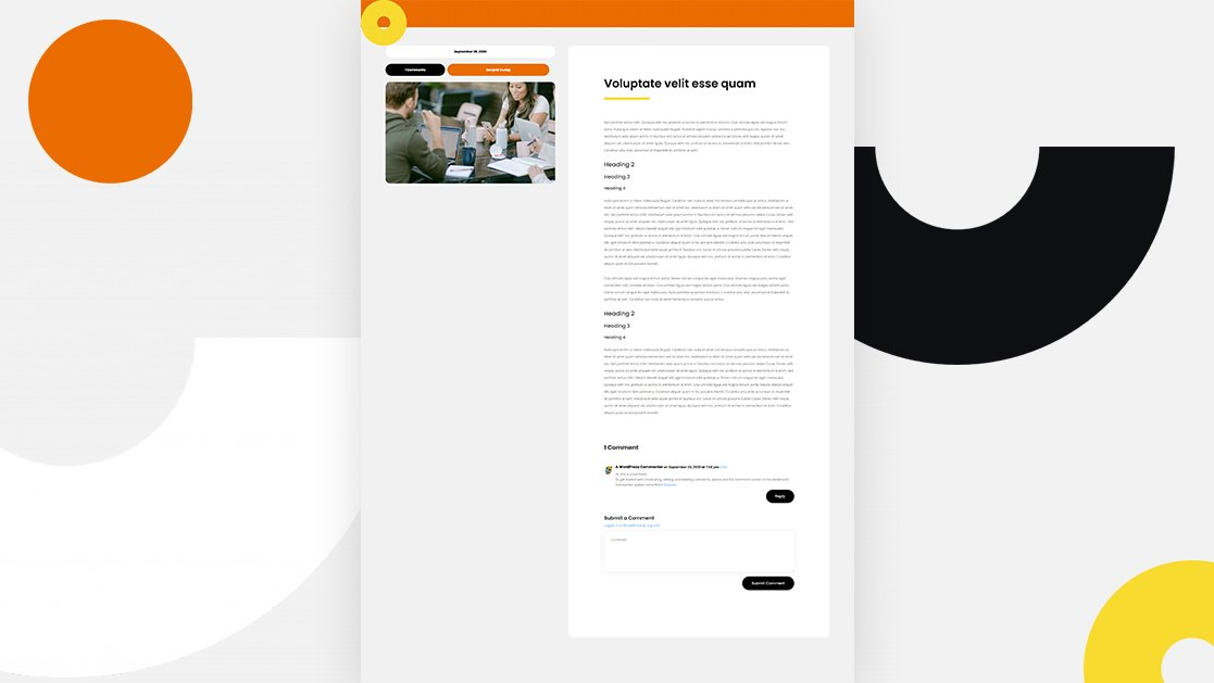 Blog Post Template for Coworking Space Layout