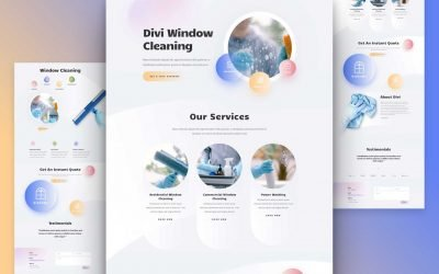 Window Cleaning Layout Pack