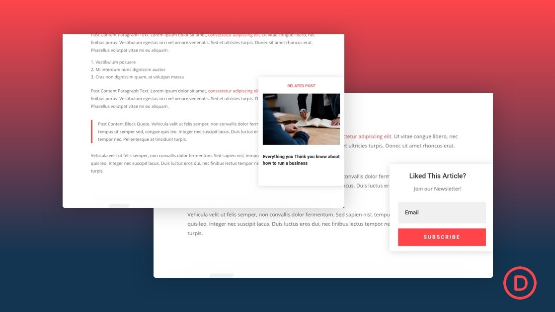 Add a Scroll Triggered Popup to Your Blog Posts