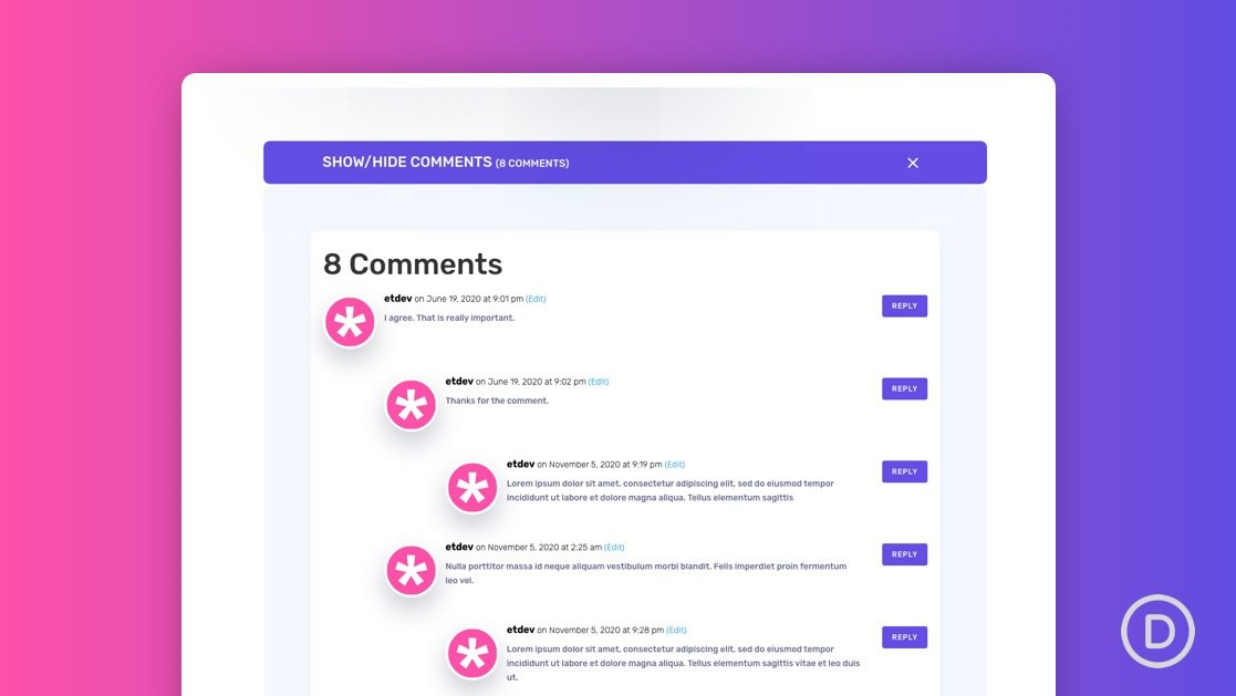 Comments Toggle for Your Blog Post Template
