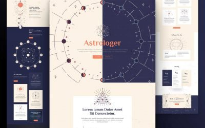 Astrologist Layout Pack
