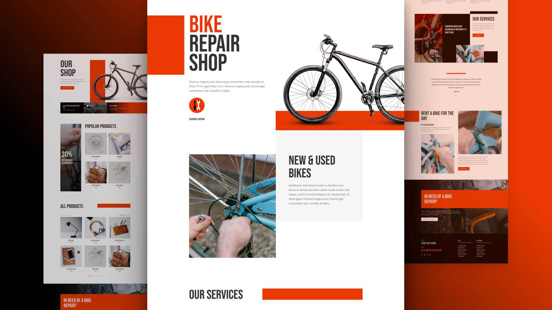 Bike Repair Layout Pack