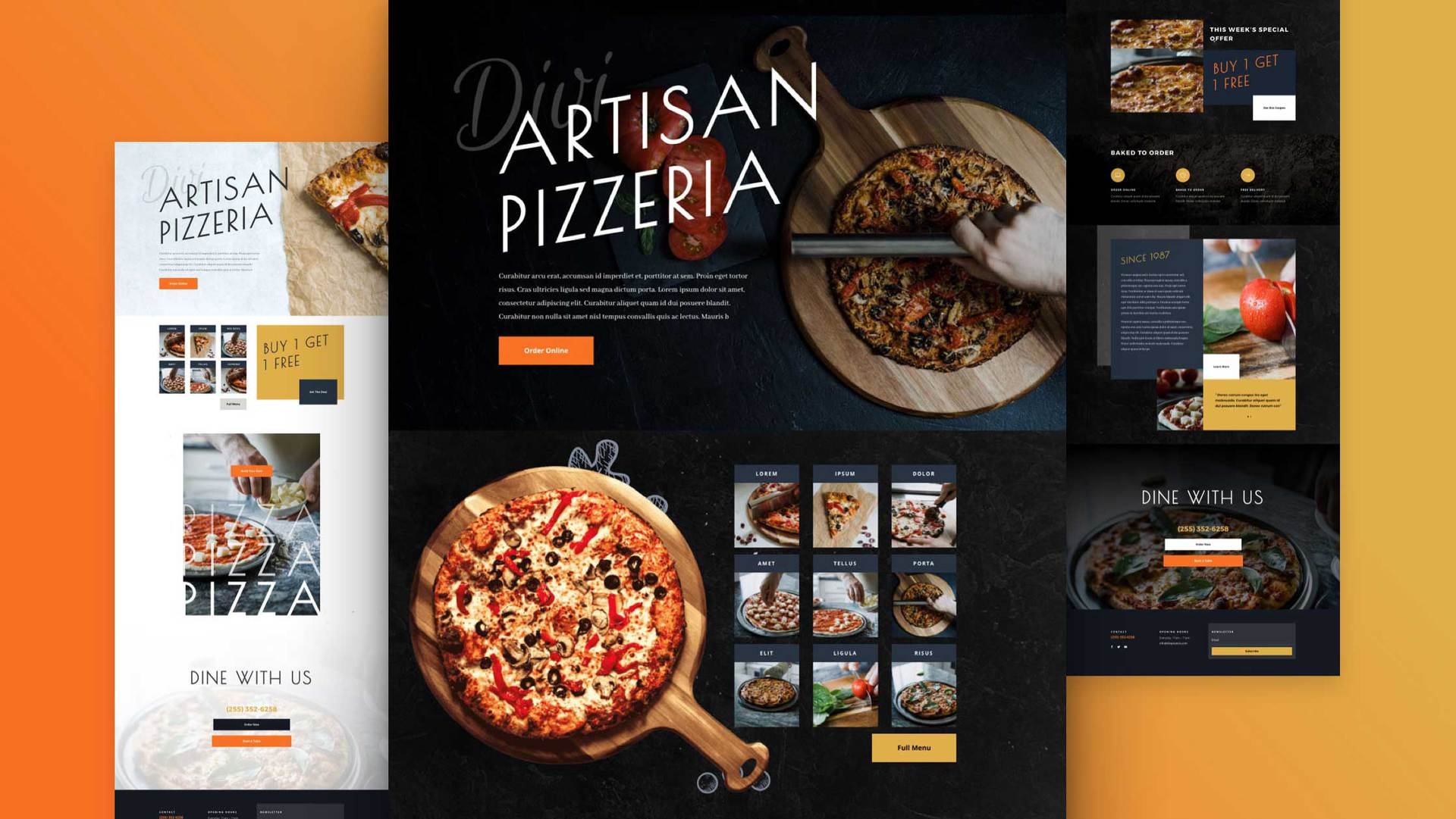 Pizzeria Layout Pack