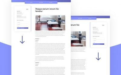 Sticky Sidebar for Your Blog Post Template