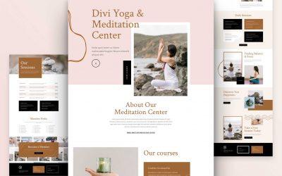 Meditation Center Layout Pack